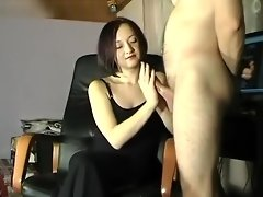 huge cumshot on Maya black dress video on WebcamWhoring.com