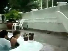 Sex In Swimming Pool video on WebcamWhoring.com