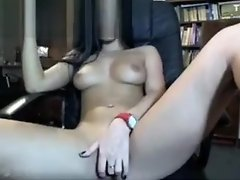 Latin Webcam Girl Rubbing Her Clit 1 video on WebcamWhoring.com