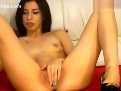 Ukrainian babe xKristalx fucks herself video on WebcamWhoring.com