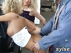 2 MILFs in garage, threesome next to the road video on WebcamWhoring.com