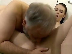 Young sweetie feels well on hard cock of an old cat video on WebcamWhoring.com