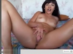 Toy And Finger For Her Tight Holes video on WebcamWhoring.com