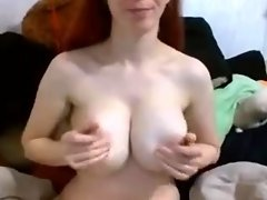 Large Huge Tits Breasts with Little Nipples video on WebcamWhoring.com