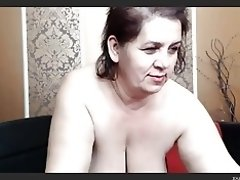 Mature Bulgarian BBW Showing Me Her MouthWatering Tits video on WebcamWhoring.com