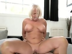 Blonde Grandma Masturbates and Gets Fucked video on WebcamWhoring.com