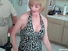 Granny Loves 3some Challenge With Two Young Cocks video on WebcamWhoring.com