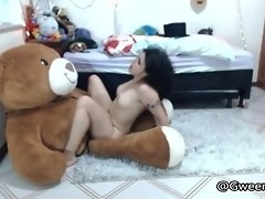 Creampied by the Bear video on WebcamWhoring.com