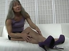 Nylon Foot Worship TRAILER video on WebcamWhoring.com