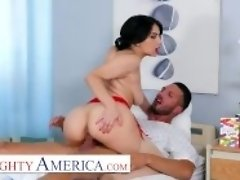"""Naughty America - Nurse Valentina takes extra care of her patient"" video on WebcamWhoring.com"