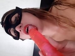 I want some cum in my tongue video on WebcamWhoring.com