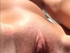 Busty Blonde Masturbates With Huge Dildo In The Garden - SeeMyGF video on WebcamWhoring.com