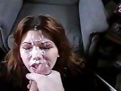 Beautiful wife takes huge facial cumshot video on WebcamWhoring.com
