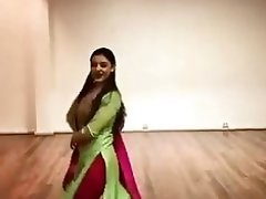 Clothed beautiful dance by sexy babe on hindi song video on WebcamWhoring.com