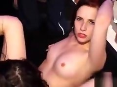 Loads of human juices are spilled during racy fuckfest party video on WebcamWhoring.com
