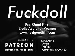 My Fuckdoll: Pussy Licking, Rough Sex & Aftercare (Erotic Audio for Women) video on WebcamWhoring.com