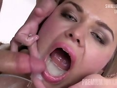 Premium Bukkake - Jane swallows 67 huge mouthful cumshots video on WebcamWhoring.com