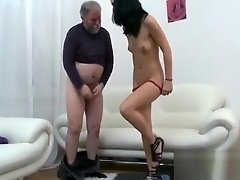 Juicy young honey enjoys getting old penis in pussy video on WebcamWhoring.com