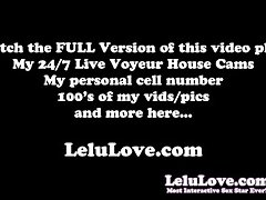 Lelu Love-Naked Workout Kettlebell Swings Yoga Stretching video on WebcamWhoring.com