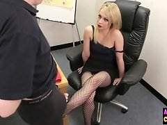 Naughty sexy blonde sucks femdom cock video on WebcamWhoring.com