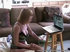 Big Tit Amateur Grandma Helps Out At Home|4::Blowjob,6::Amateur,16::Mature,47::Young and Old video on WebcamWhoring.com