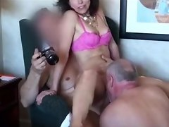 HD Wife Cheats With 2 of Husbands Friends video on WebcamWhoring.com