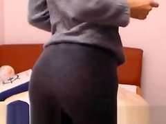 Weird Skinny College Nerd Exposed On Webcam video on WebcamWhoring.com