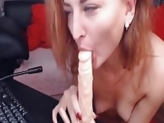 Sexy Cam Babe Dildoing Her Wet Pussy video on WebcamWhoring.com