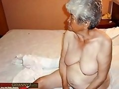 LatinaGrannY Amateur Grandma Pictures Collection video on WebcamWhoring.com