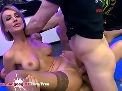 Super Hot Babe Elen Million Double Penetrated by Monster Cocks - German Goo Girls video on WebcamWhoring.com