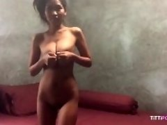"""Mighty big boobs on Thai amateur"" video on WebcamWhoring.com"