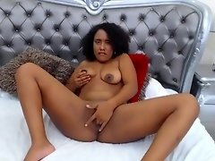 Ebony girl on Cam with a Dream Girl on www.ebonylivesexcams.com video on WebcamWhoring.com