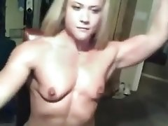Amanda Bodybuilder Webcam video on WebcamWhoring.com